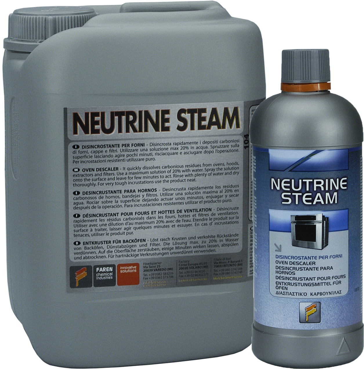 NEUTRINE STEAM - 750 ml
